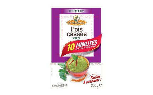 Précuits 10 min : Pois Cassés Verts