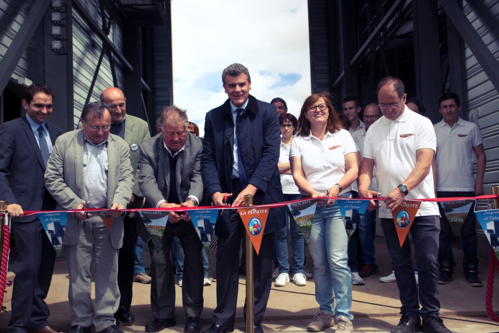 Inauguration nouveau silo de Costaros