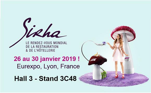 SIRHA 2019 – Venez nous rencontrer à Lyon